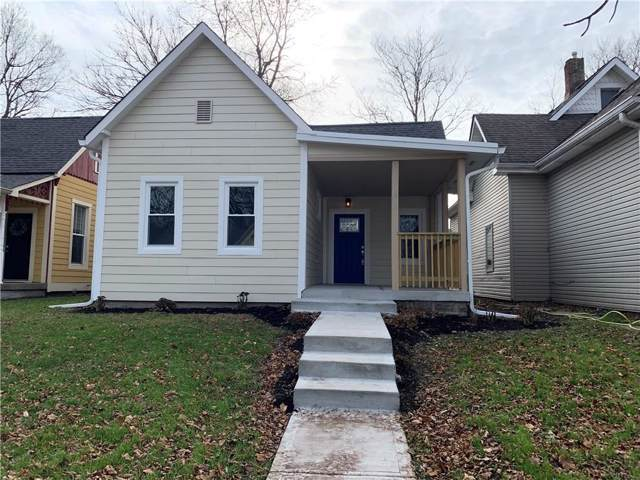 1617 Fletcher Avenue, Indianapolis, IN 46203 (MLS #21684807) :: Mike Price Realty Team - RE/MAX Centerstone