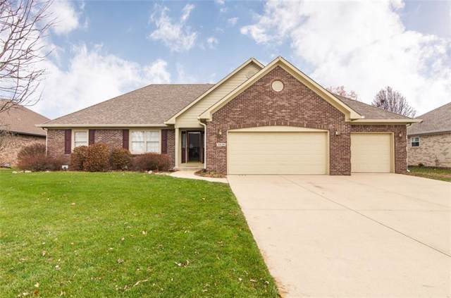 3648 S Cedar Creek Lane, New Palestine, IN 46163 (MLS #21684853) :: The Indy Property Source