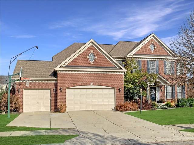 11820 Floral Hall Place, Fishers, IN 46037 (MLS #21684879) :: David Brenton's Team
