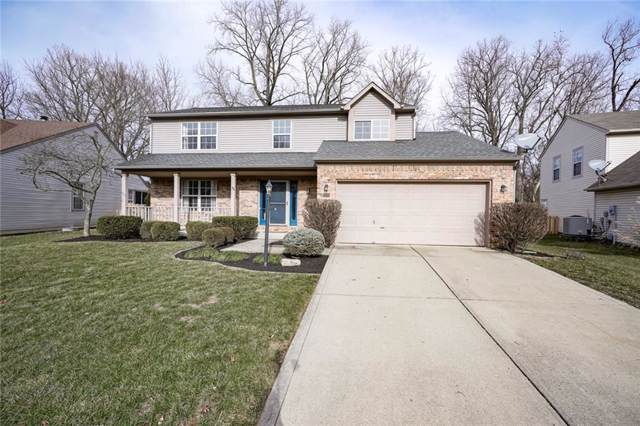 6309 Valleyview Drive, Fishers, IN 46038 (MLS #21684945) :: The Indy Property Source