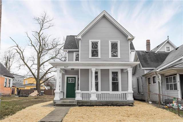 1627 Hoyt Avenue, Indianapolis, IN 46203 (MLS #21685085) :: HergGroup Indianapolis
