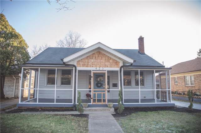 423 Berkley Road, Indianapolis, IN 46208 (MLS #21685118) :: Mike Price Realty Team - RE/MAX Centerstone