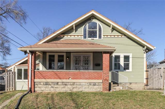 3320 Nowland Avenue, Indianapolis, IN 46201 (MLS #21685167) :: Heard Real Estate Team | eXp Realty, LLC