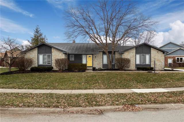 7937 Castle Lake Road, Indianapolis, IN 46256 (MLS #21685262) :: The Evelo Team