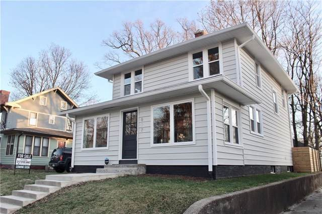817 E 42nd Street, Indianapolis, IN 46205 (MLS #21685318) :: The Indy Property Source