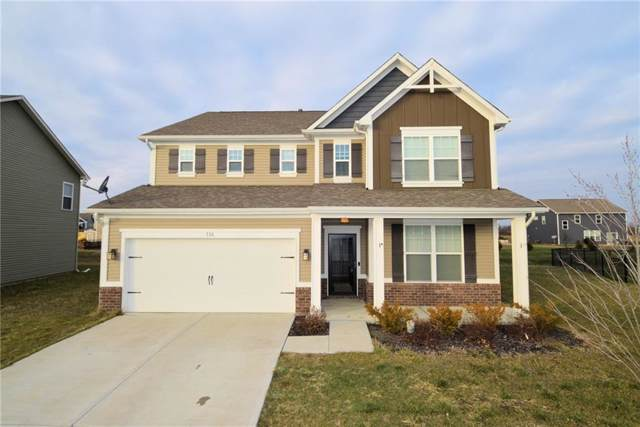 736 S Summerhaven Court, New Palestine, IN 46176 (MLS #21685449) :: The Indy Property Source