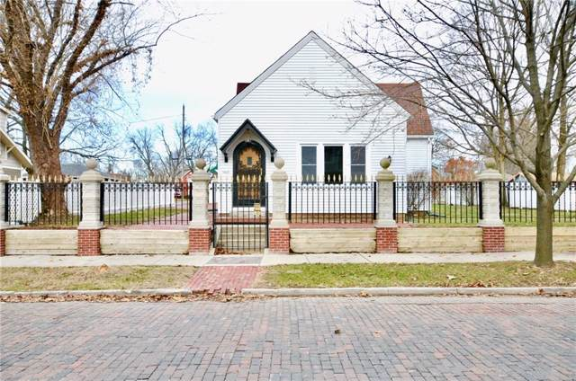 1460 Logan Street, Noblesville, IN 46060 (MLS #21685511) :: The Indy Property Source