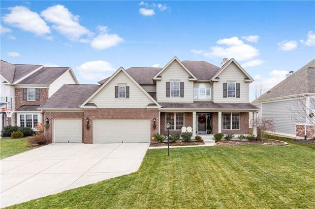10965 Blooming Orchard Drive, Fishers, IN 46038 (MLS #21685570) :: The Evelo Team
