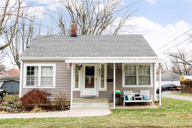 351 West Street, Franklin, IN 46131 (MLS #21685652) :: The Indy Property Source