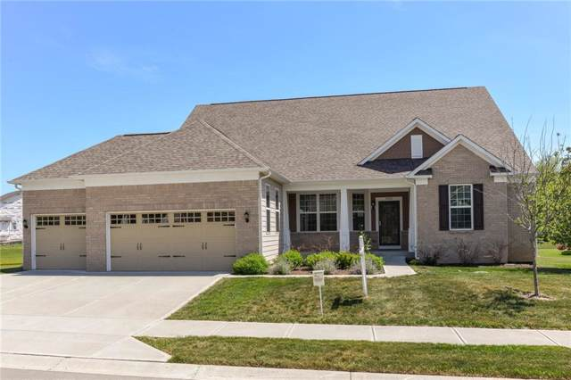 9559 Summer Hollow Drive, Fishers, IN 46037 (MLS #21685674) :: The Evelo Team