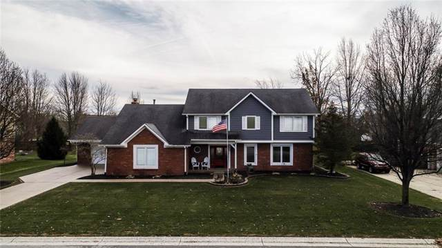 920 Queensbury Drive, Noblesville, IN 46062 (MLS #21685718) :: The Evelo Team
