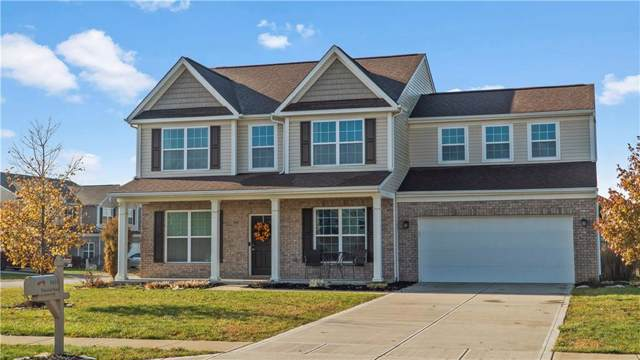 5935 Wakefield Road, Greenwood, IN 46142 (MLS #21685957) :: The Indy Property Source