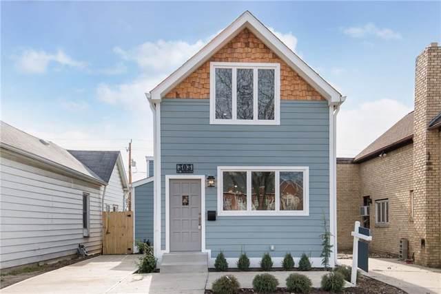 303 E Morris Street, Indianapolis, IN 46225 (MLS #21686130) :: Heard Real Estate Team | eXp Realty, LLC