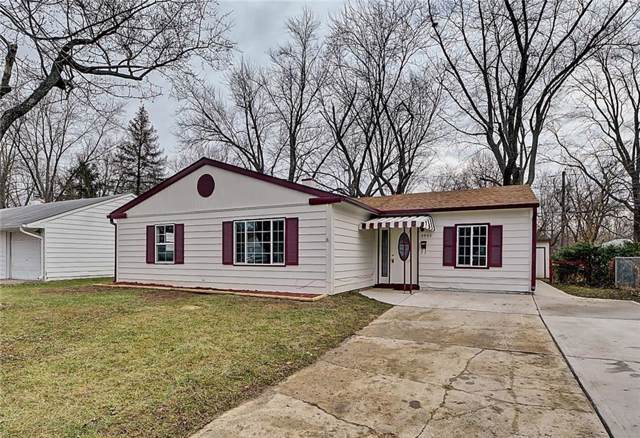 3955 Strathmore Drive, Indianapolis, IN 46235 (MLS #21686162) :: Richwine Elite Group