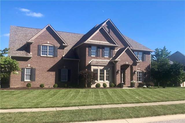 4447 W Woodbridge Lane, New Palestine, IN 46163 (MLS #21686325) :: The Indy Property Source