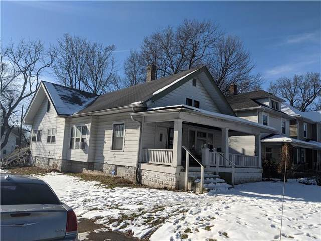1001 W 33rd Street, Indianapolis, IN 46208 (MLS #21686886) :: AR/haus Group Realty