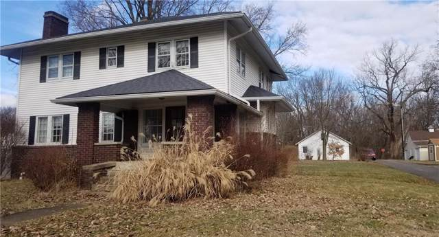 126 E Main Street, New Palestine, IN 46163 (MLS #21687039) :: The Indy Property Source