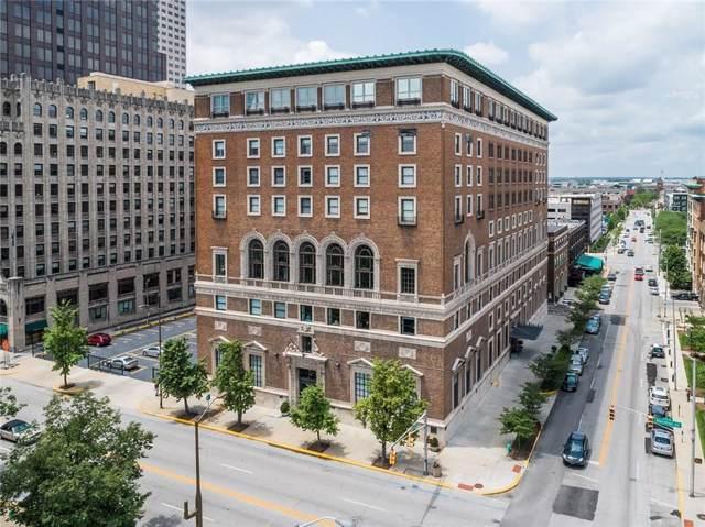 350 N Meridian Street #807, Indianapolis, IN 46204 (MLS #21687252) :: Heard Real Estate Team | eXp Realty, LLC