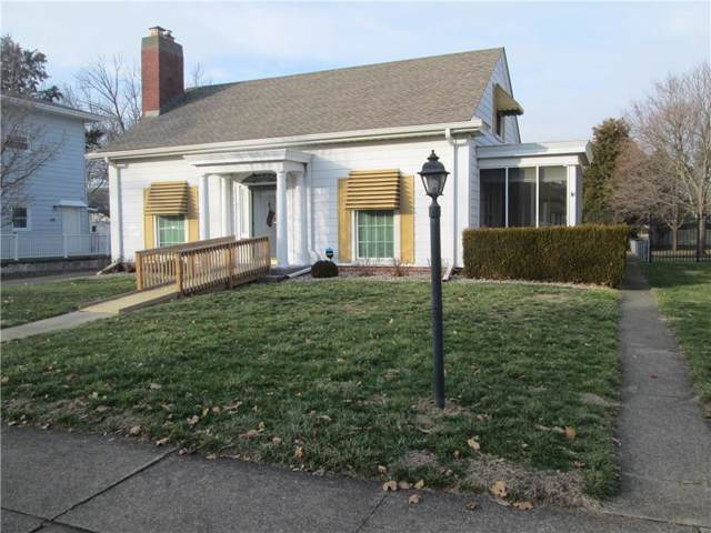 148 W Mechanic Street, Shelbyville, IN 46176 (MLS #21688152) :: The Indy Property Source