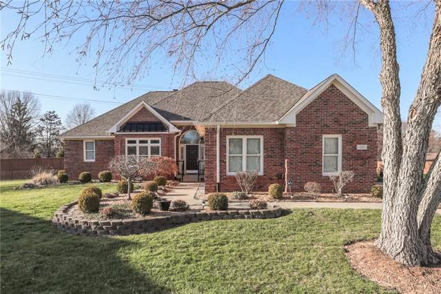 334 Oak Meadows Court, Greenwood, IN 46142 (MLS #21688358) :: The Indy Property Source