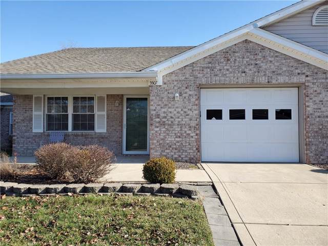5507 Gateridge Lane #18, Indianapolis, IN 46237 (MLS #21688395) :: Mike Price Realty Team - RE/MAX Centerstone