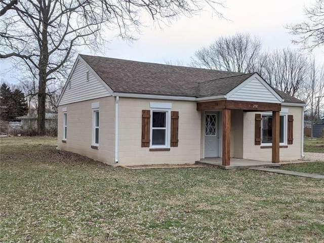 2192 N Oak Street, Arlington, IN 46104 (MLS #21688880) :: The Indy Property Source