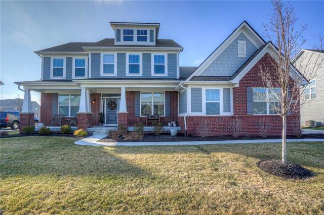 10122 Midnight Line Drive, Fishers, IN 46040 (MLS #21689043) :: Richwine Elite Group