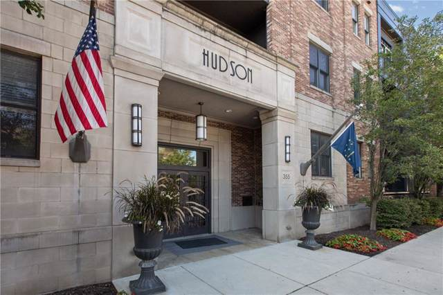 355 E Ohio #112, Indianapolis, IN 46204 (MLS #21689109) :: The Indy Property Source