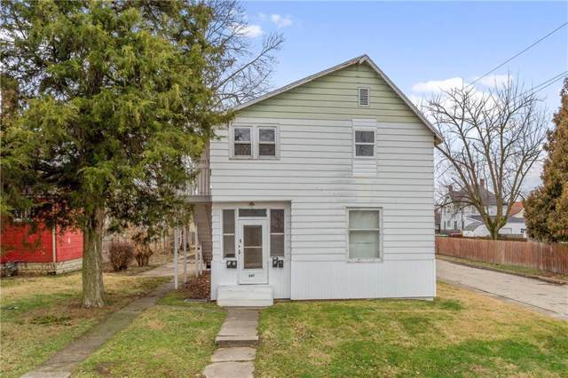 347 W 4th Street, Anderson, IN 46016 (MLS #21689156) :: The Indy Property Source