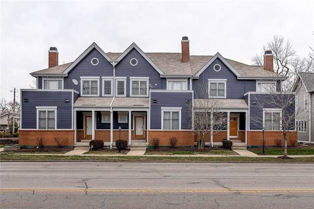 1557 N College Avenue #7, Indianapolis, IN 46202 (MLS #21689259) :: Mike Price Realty Team - RE/MAX Centerstone