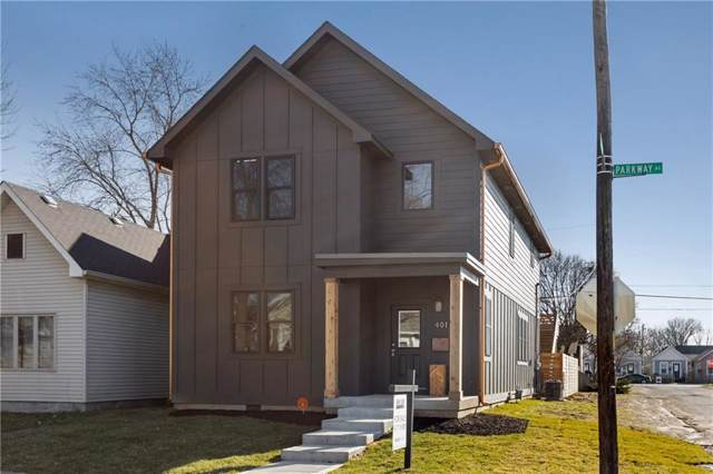 401 Parkway Avenue, Indianapolis, IN 46225 (MLS #21689288) :: The Indy Property Source