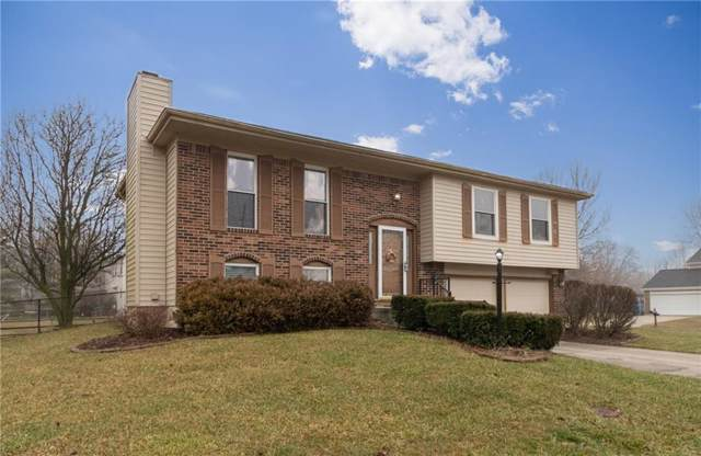 8355 Castle Ridge Lane, Indianapolis, IN 46256 (MLS #21689819) :: The Indy Property Source