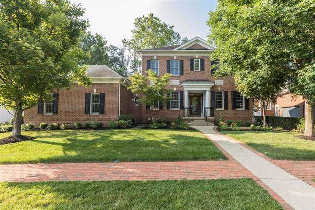 4125 Heyward Lane, Indianapolis, IN 46250 (MLS #21689877) :: The Indy Property Source