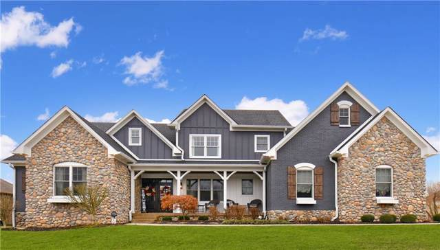 721 Willow Pointe North Drive, Plainfield, IN 46168 (MLS #21689991) :: The Indy Property Source