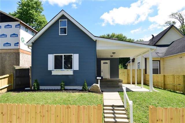 1043 N Hamilton Avenue, Indianapolis, IN 46201 (MLS #21690018) :: The Indy Property Source