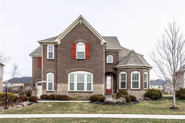 2709 E High Grove Circle, Zionsville, IN 46077 (MLS #21690021) :: The Evelo Team