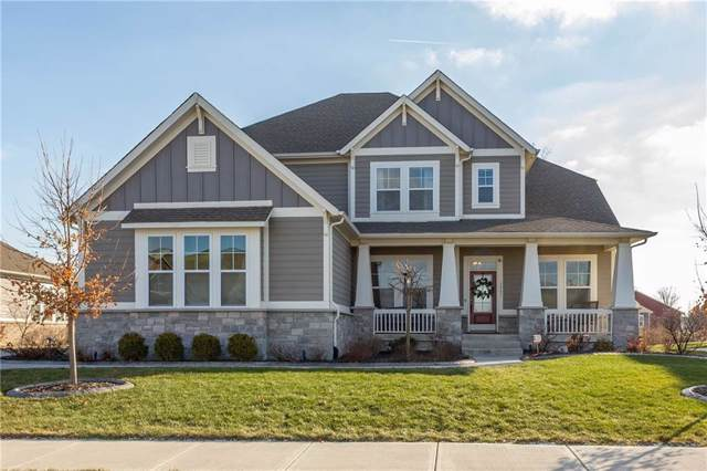 3561 Shady Lake Drive, Westfield, IN 46074 (MLS #21690110) :: The Indy Property Source