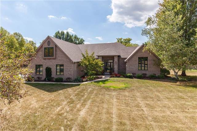 5525 W Stonehaven Lane, New Palestine, IN 46163 (MLS #21690268) :: David Brenton's Team