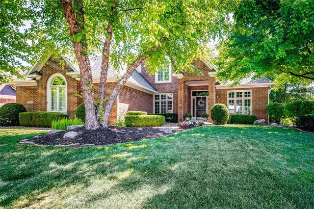 12303 Bayhill Drive, Carmel, IN 46033 (MLS #21690480) :: Richwine Elite Group