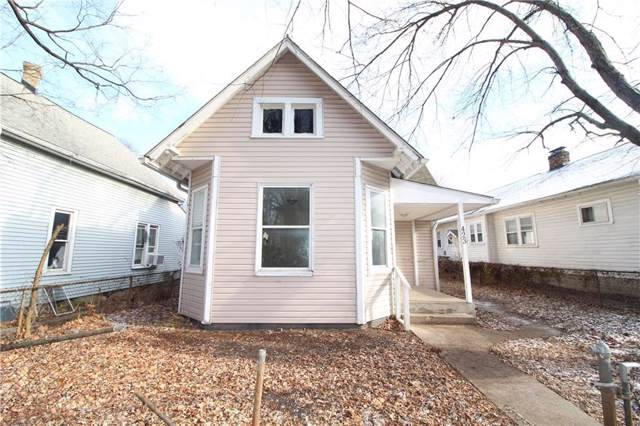 423 N Grant Avenue, Indianapolis, IN 46201 (MLS #21690493) :: The Indy Property Source