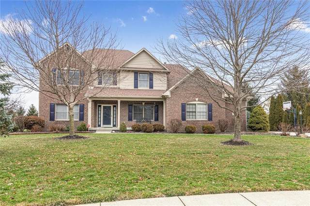 7444 W Banton Circle, New Palestine, IN 46163 (MLS #21690530) :: The Indy Property Source