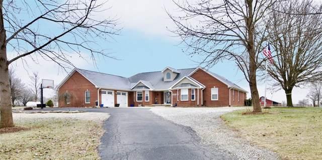 5765 N Pr Wind Drift Lane, Shelbyville, IN 46176 (MLS #21690546) :: The Evelo Team