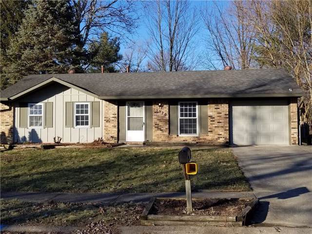 5920 Belford Court, Indianapolis, IN 46254 (MLS #21690558) :: The Evelo Team