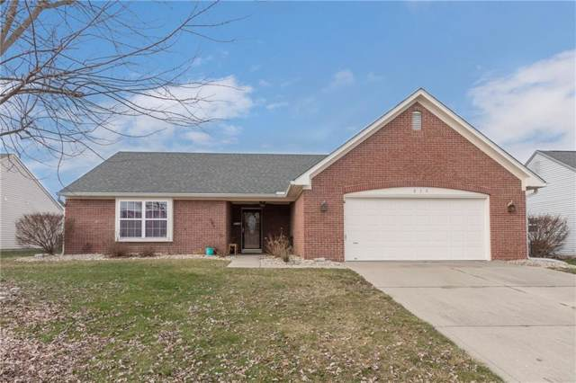 854 Franklin Lakes Boulevard, Franklin, IN 46131 (MLS #21690585) :: The Indy Property Source
