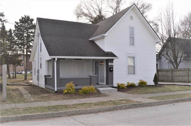 609 W Fourth Street, Greenfield, IN 46140 (MLS #21690989) :: The Evelo Team