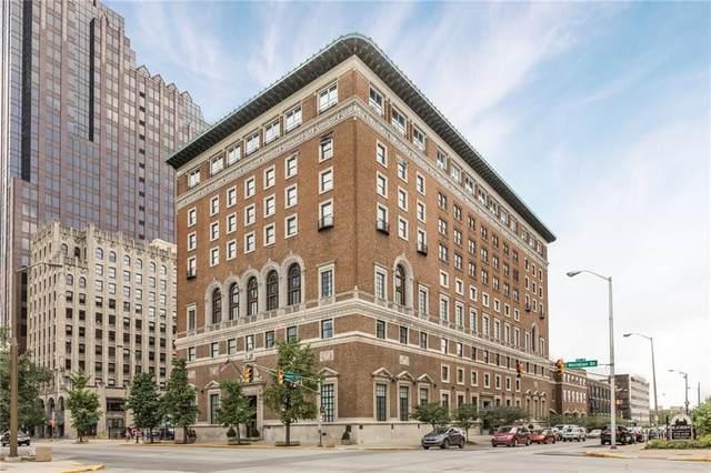 350 N Meridian Street #507, Indianapolis, IN 46204 (MLS #21691207) :: AR/haus Group Realty