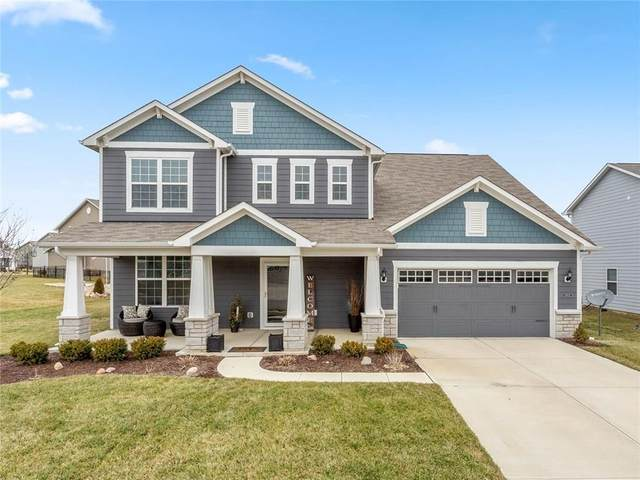 15602 Bellevue Circle, Fishers, IN 46037 (MLS #21691482) :: The Indy Property Source