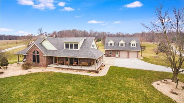 3285 W Briarwood Road, Monrovia, IN 46157 (MLS #21691533) :: Mike Price Realty Team - RE/MAX Centerstone