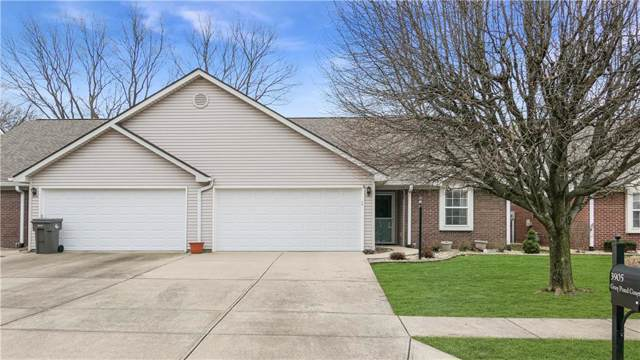 3905 Gray Pond Court, Indianapolis, IN 46237 (MLS #21691572) :: David Brenton's Team