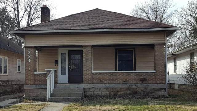 734 N Gladstone Avenue, Indianapolis, IN 46201 (MLS #21692863) :: The Indy Property Source